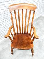 Large Windsor Lathback Armchair (4 of 6)
