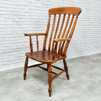 Large Windsor Lathback Armchair (2 of 6)