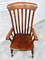 Large Windsor Lathback Armchair (4 of 5)