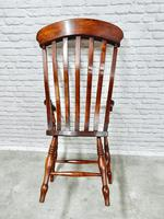 Large Windsor Lathback Armchair (5 of 5)