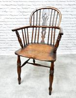 4 X Windsor Lowback Armchairs (5 of 9)