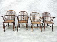 4 X Windsor Lowback Armchairs (2 of 9)