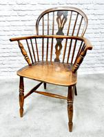 4 X Windsor Lowback Armchairs (6 of 9)