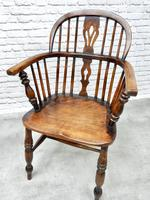 4 X Windsor Lowback Armchairs (7 of 9)