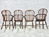 4 X Windsor Lowback Armchairs (9 of 9)