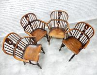 4 X Windsor Lowback Armchairs (4 of 9)