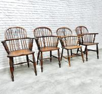 4 X Windsor Lowback Armchairs (3 of 9)