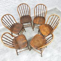 Set of 6 Windsor Kitchen / Dining Chairs (3 of 6)