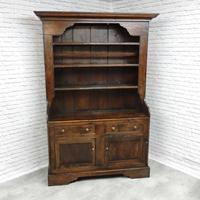 Antique Pine Kitchen Dresser (5 of 5)