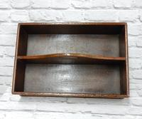 19th Century Mahogany Cutlery Tray (3 of 3)
