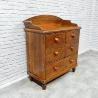Victorian Pine Chest of Drawers (4 of 6)