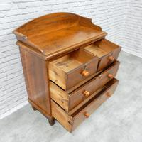 Victorian Pine Chest of Drawers (5 of 6)