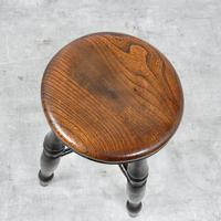 Antique Bar / Kitchen Stool (3 of 5)