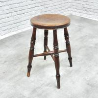 Antique Bar / Kitchen Stool (2 of 6)