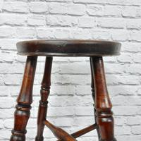 Antique Bar / Kitchen Stool (4 of 6)
