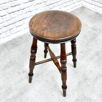 Antique Bar / Kitchen Stool (3 of 6)