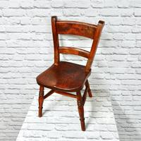 Antique Child's Barback Chair (3 of 4)