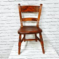 Antique Child's Barback Chair (2 of 4)