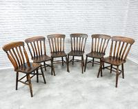 Set of 6 Vintage Windsor Kitchen Chairs (2 of 6)