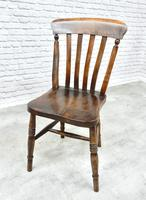 Set of 6 Vintage Windsor Kitchen Chairs (5 of 6)