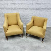 2 19th Century Upholstered Armchairs (2 of 5)