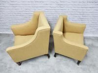 2 19th Century Upholstered Armchairs (4 of 5)