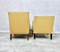 2 19th Century Upholstered Armchairs (5 of 5)