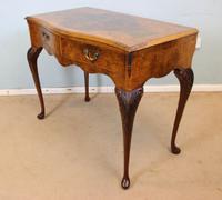 Burr Walnut Queen Anne Style Side Table C.1930 (7 of 9)