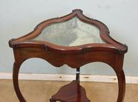 Antique Mahogany Bijouterie Display Table (8 of 9)