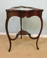 Antique Mahogany Bijouterie Display Table (2 of 9)