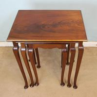 Nest of Three Mahogany Tables (3 of 7)