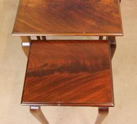 Nest of Three Mahogany Tables (6 of 7)