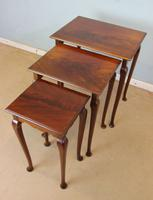 Nest of Three Mahogany Tables (7 of 7)