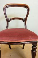 Antique Balloon Back Occasional Mahogany Side Chair (2 of 5)