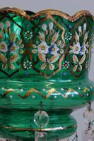 Antique Victorian Mantle / Table Lustre (8 of 9)