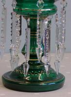 Antique Victorian Mantle / Table Lustre (7 of 9)