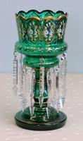 Antique Victorian Mantle / Table Lustre (4 of 9)