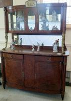 French Marble Top Server Buffet Sideboard C.1870