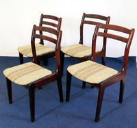 Set of 4 Quality Retro Nathan Dining Room Chairs
