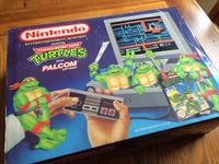 Limited Edition Nintendo Entertainment System with Teenage Mutant Hero Turtles game