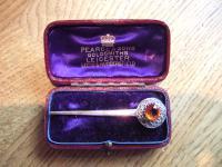Celtic Silver Brooch by Robert Allison