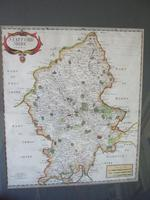 Robert Morden:  Map of Staffordshire Ca. 1695