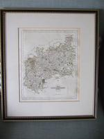 Late 18th Century Map of Gloucestershire by John Cary (2 of 7)