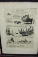 """W L Wyllie - Set of 4 Illustrations of the Poem """"Our Fathers"""" by Capt Ronald Harwood"""