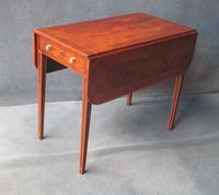 Georgian Mahogany & Inlaid Pembroke Table C.1800