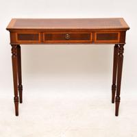 Georgian Style Inlaid Mahogany Console Table (2 of 9)