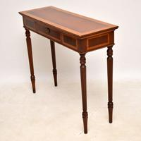 Georgian Style Inlaid Mahogany Console Table (7 of 9)