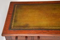 Large Antique William IV Mahogany Leather Top Writing Table / Desk (2 of 11)