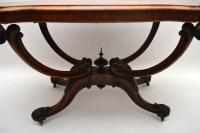 Antique Victorian Burr Walnut Centre Table (3 of 10)