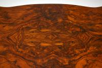 Antique Victorian Burr Walnut Centre Table (10 of 10)